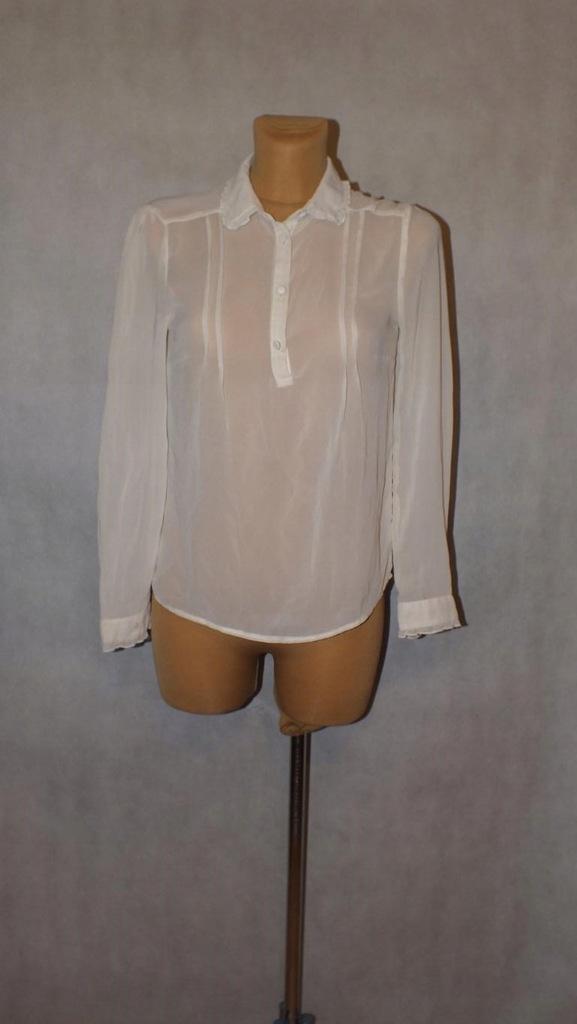 Biała wizytowa koszula bluzka Atmospher Rozmiar 38