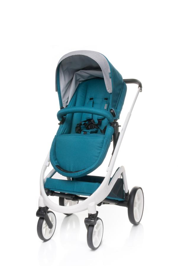 4 BABY Wózek COSMO 2w1 DARK TURKUS PROMOCJA