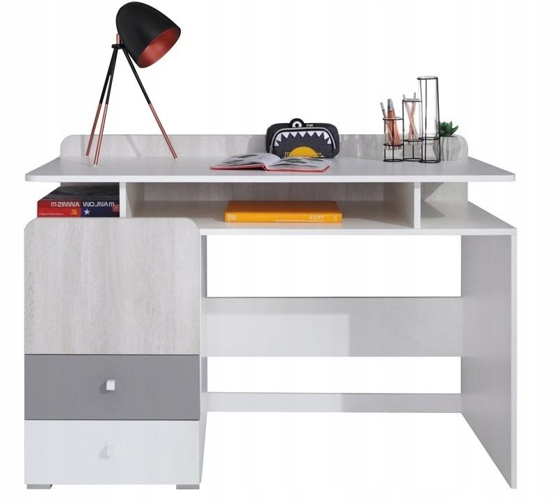 biurko z szufladami młodzieżowe dzieci COMO CM9