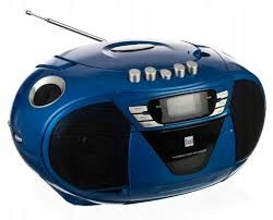 Radio Boombox Dual P65 CD/MP3,Radio,AUX,Magnetofon