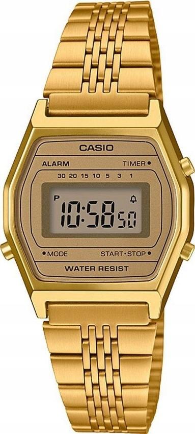 Damski zegarek CASIO RETRO LA690WEGA złoty