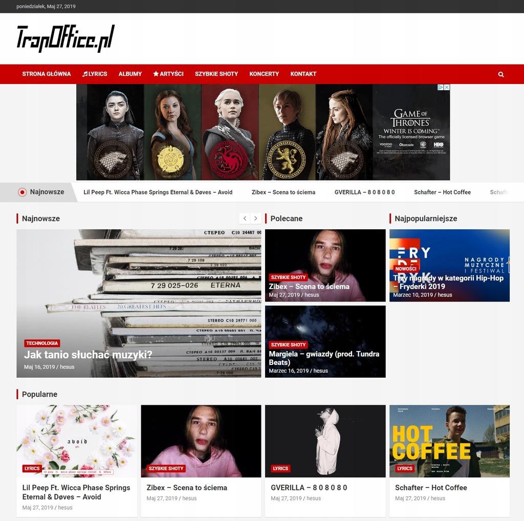 Link na stronie trapoffice.pl
