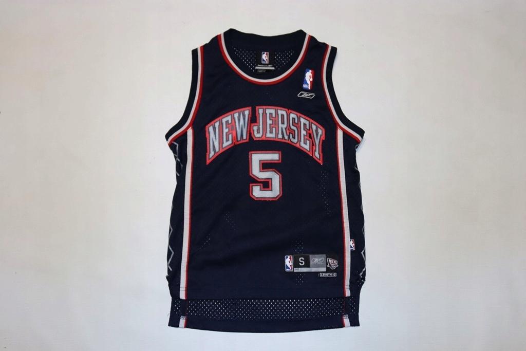 Nba New Jersey Reebok Nets Kidd 5 8lat oryg