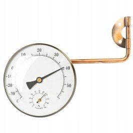 HOT produkt Termometr z wilgotnościomierzem mosią