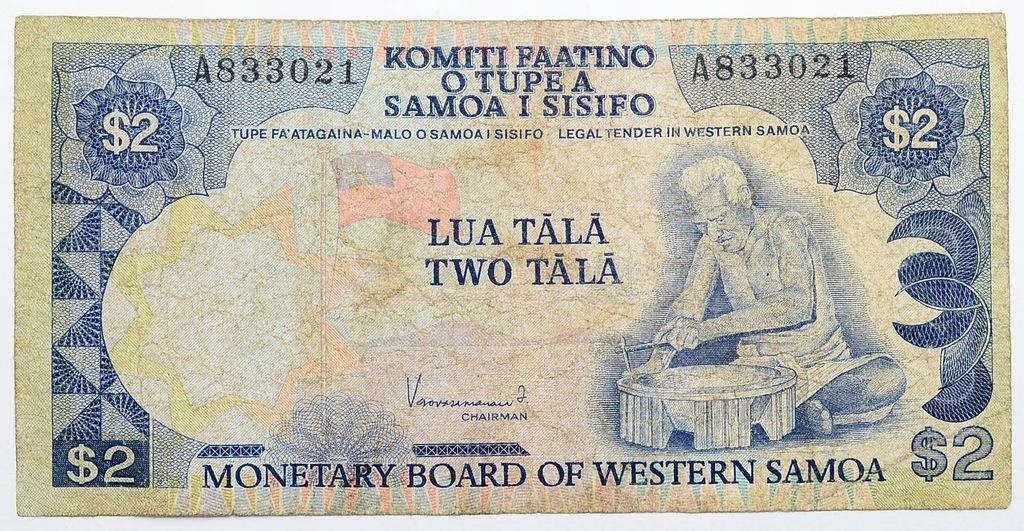 26.Samoa Zachodnie, 2 Tala 1980 rzadki, St.3