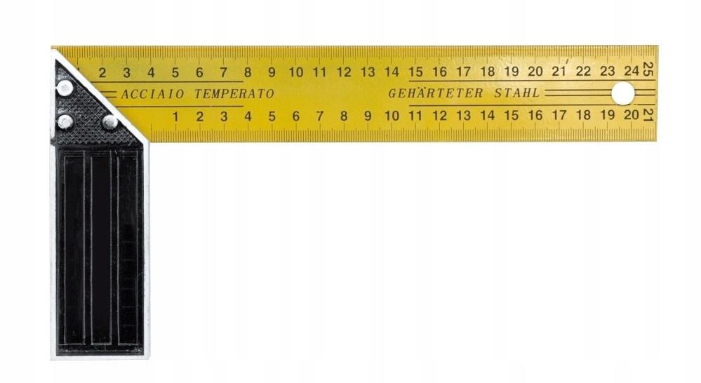 Kątownik stolarski 250 mm 18250 Vorel