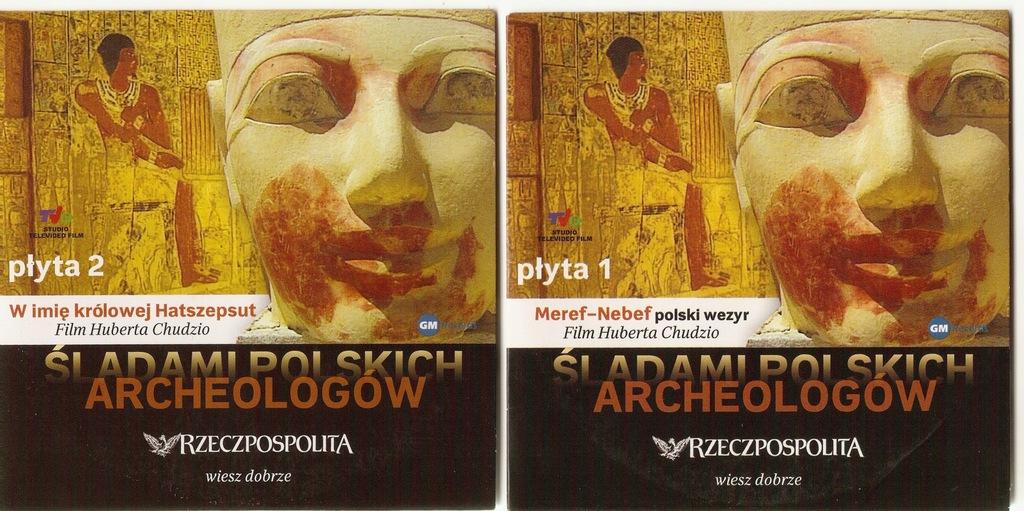 Śladami Polskich Archeologów -płyta 1, 2, 3, 4 d/w