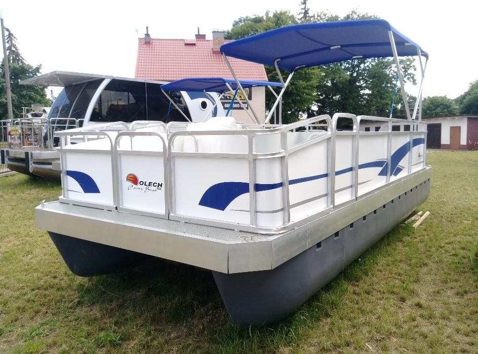 Katamaran Łódź Platforma Fisch Boat