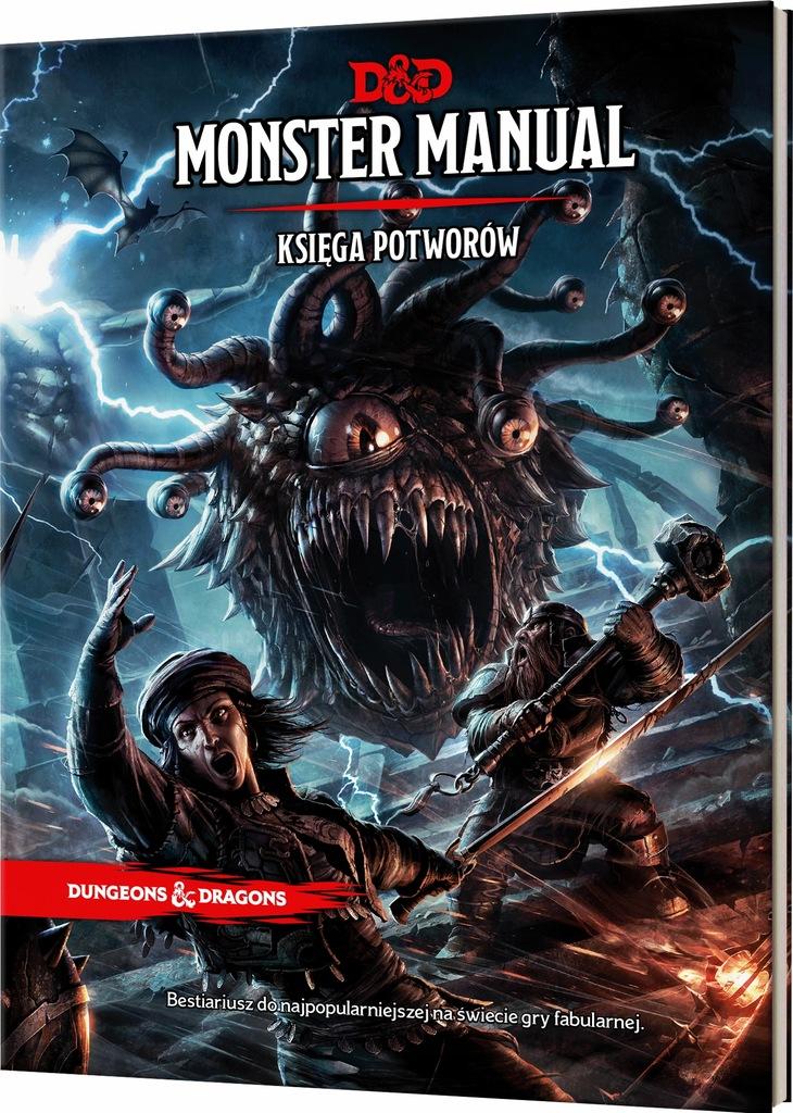 Dungeons & Dragons Monster Manual (Księga Potw