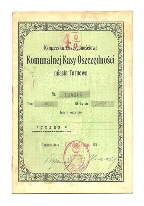 Komunalna Kasa Oszczędności m. Tarnowa / książka 2