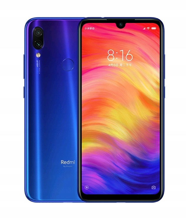 Xiaomi Redmi Note 7 4GB RAM / 64GB ROM Blue