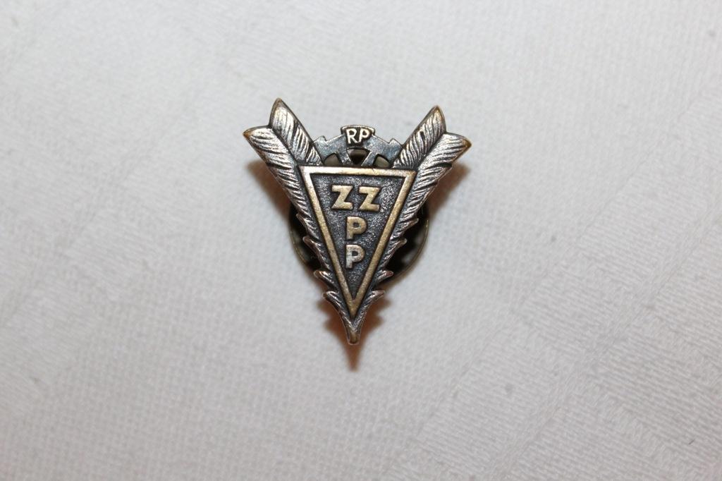 ZZPP odznaka II RP Związek Zawodowy Pisarzy Polski