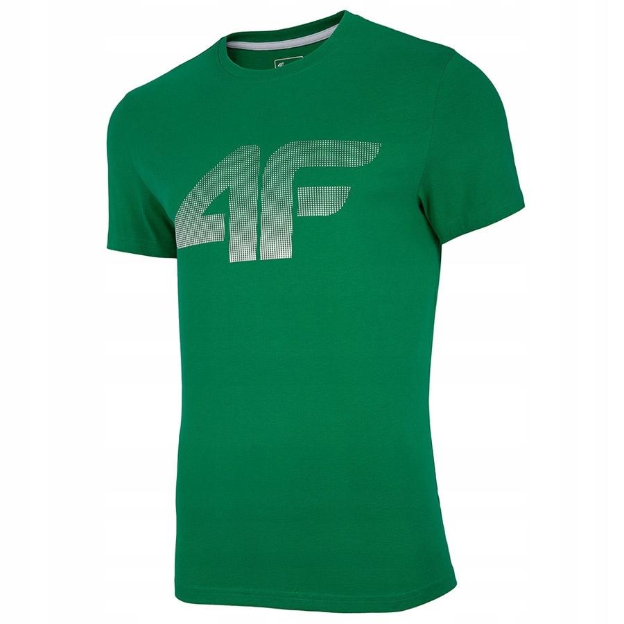 T-Shirt 4F NOSH4-TSM004 41S zielony S!