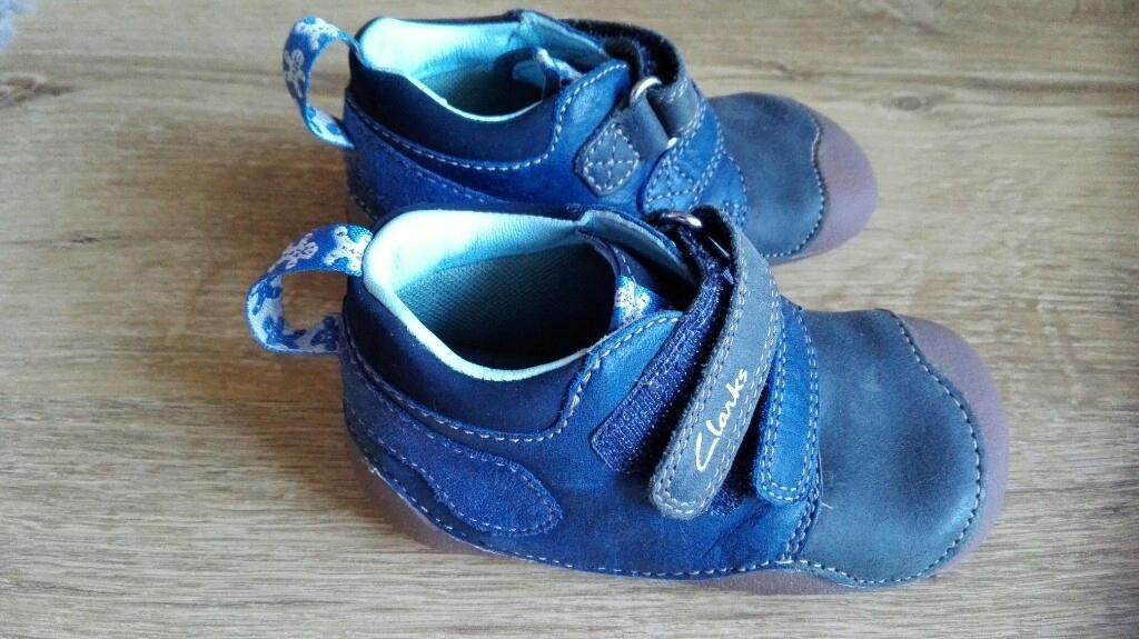 Clarks pierwsze buciki wkł. 13cm