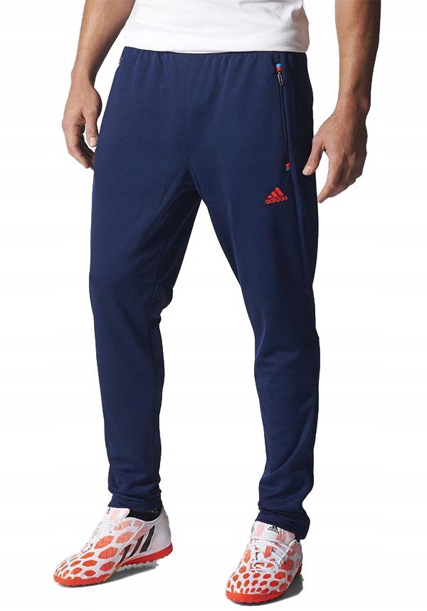 752 spodnie męskie adidas dresowe climacool r. l Zdjęcie