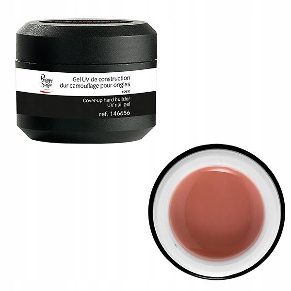 PEGGY SAGE - Żel UV budujacy gęsty kamuflaż rose