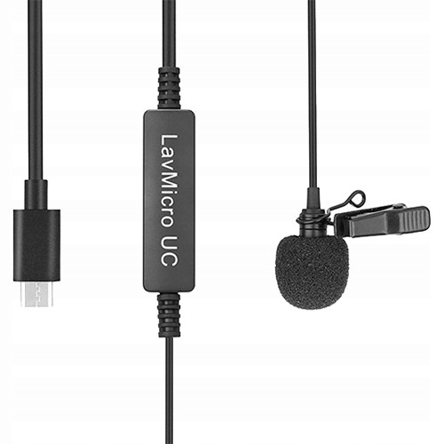 Saramonic LavMicro UC mikrofon lavalier, krawatowy