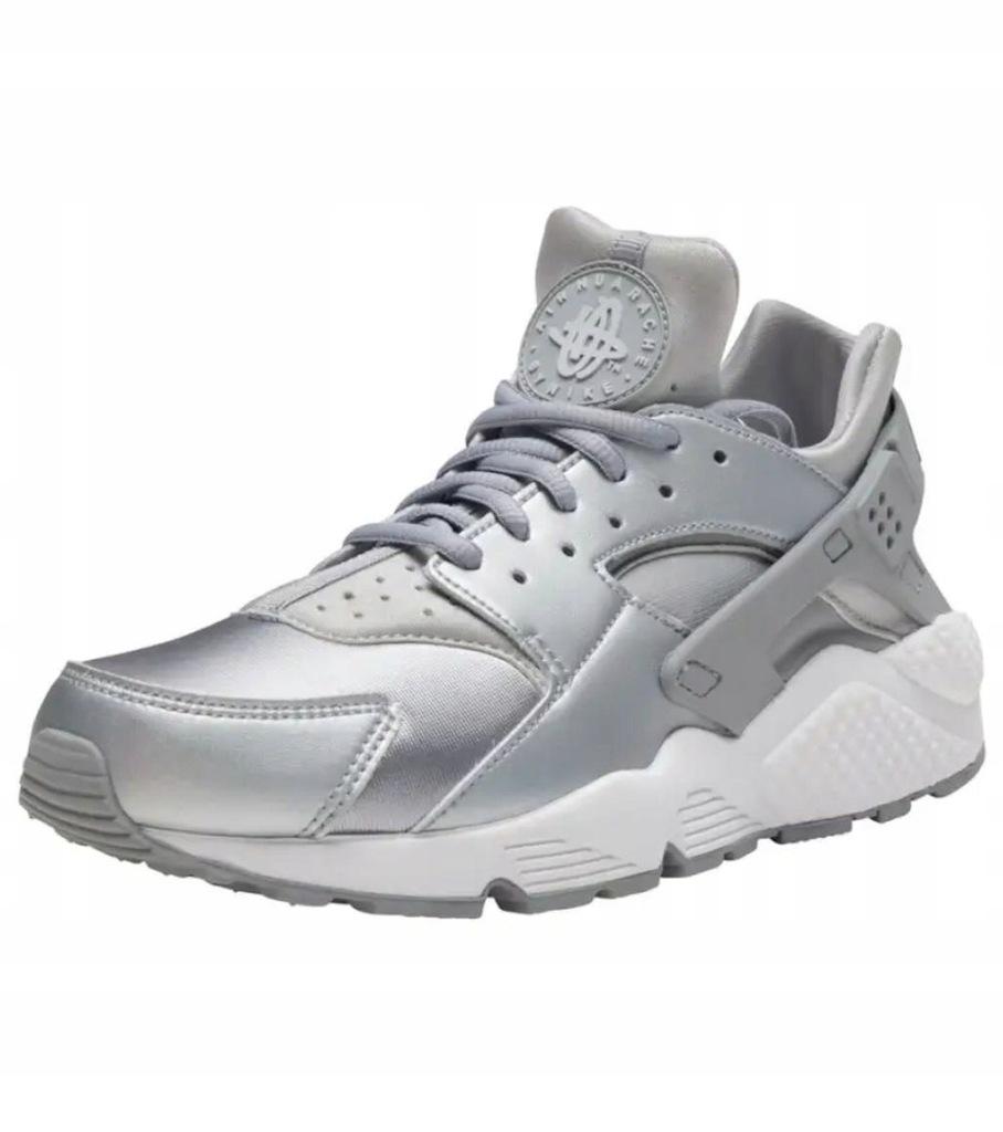 Buty Nike Huarache Run Se Srebrne R 35 5 8125462138 Oficjalne Archiwum Allegro