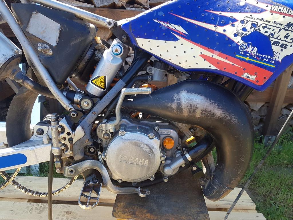 Yamaha Yz 85 Na Czesci Kartery Cylinder Zaplon Wal 7882614254 Oficjalne Archiwum Allegro