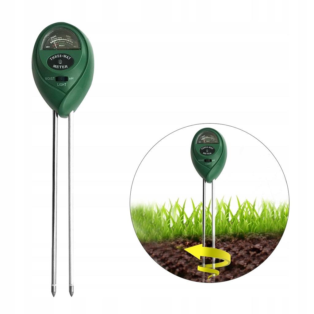 Zestaw testowy gleby 3 w 1 Miernik wilgotności gle