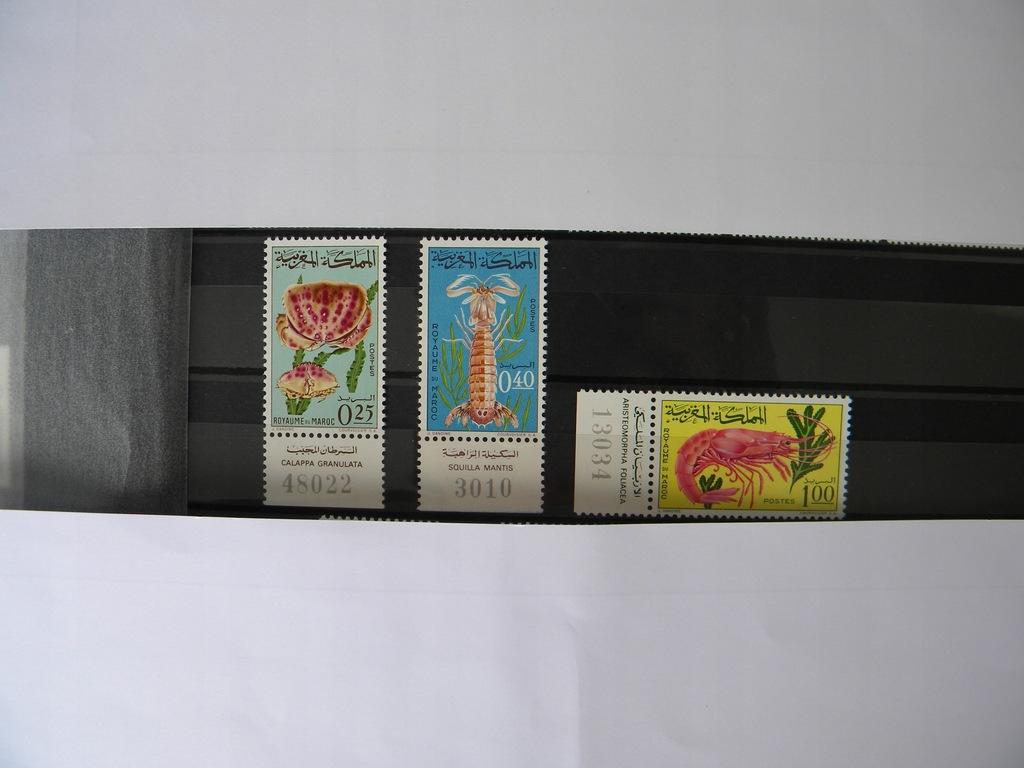 znaczki maroko