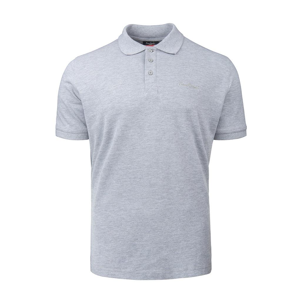 Koszulki polo Pierre Cardin Plain Polo szary XL