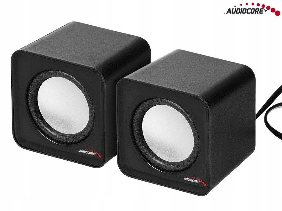 Głośniki komputerowe 6W USB AC870B