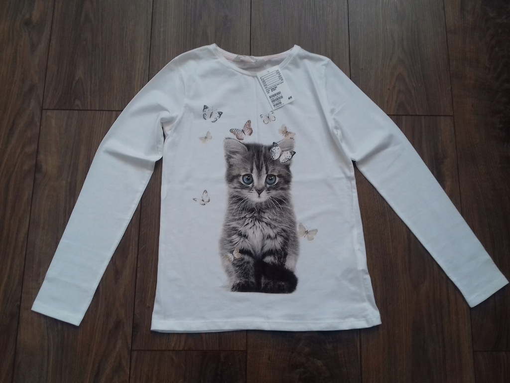 H&M bluzka bluzeczka r. 134/140 NOWA