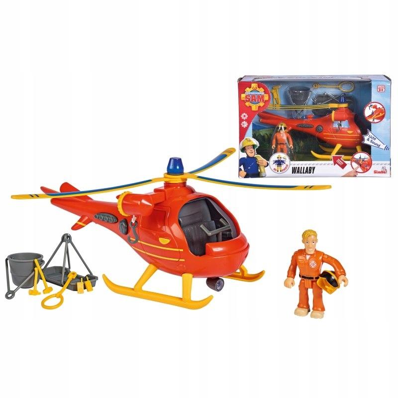 SIMBA Strażak Sam Helikopter Ratowniczy Wallaby +