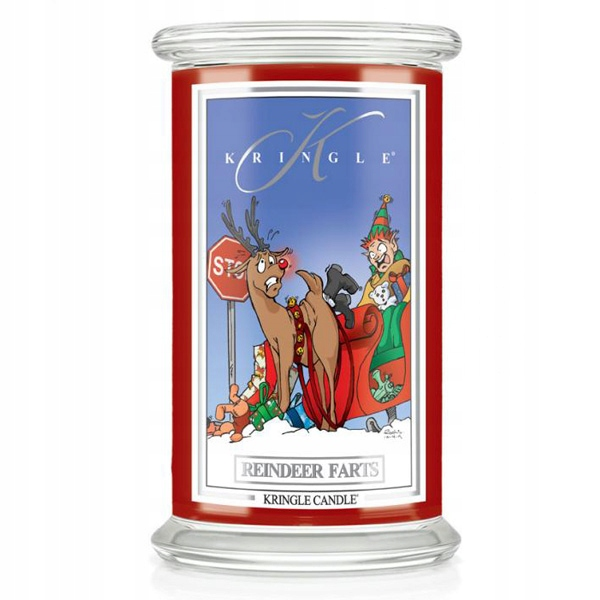 Kringle Candle - Reindeer Farts - Świeca duża 623g