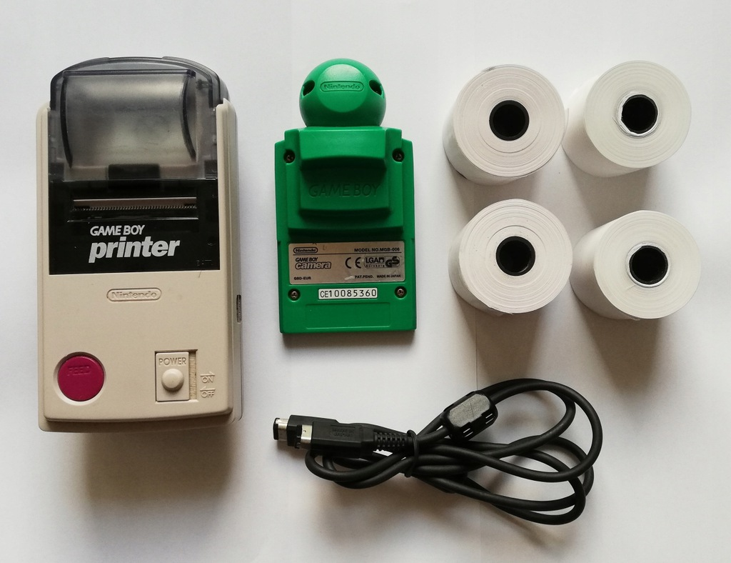 Nintendo Game Boy Printer + GameBoy Camera! JAPAN!