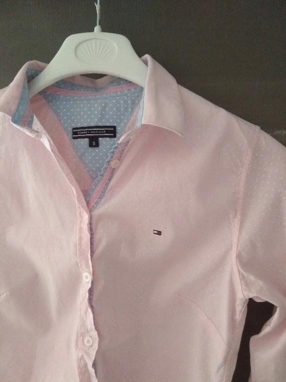 Tommy Hilfiger koszula w kropki r. S