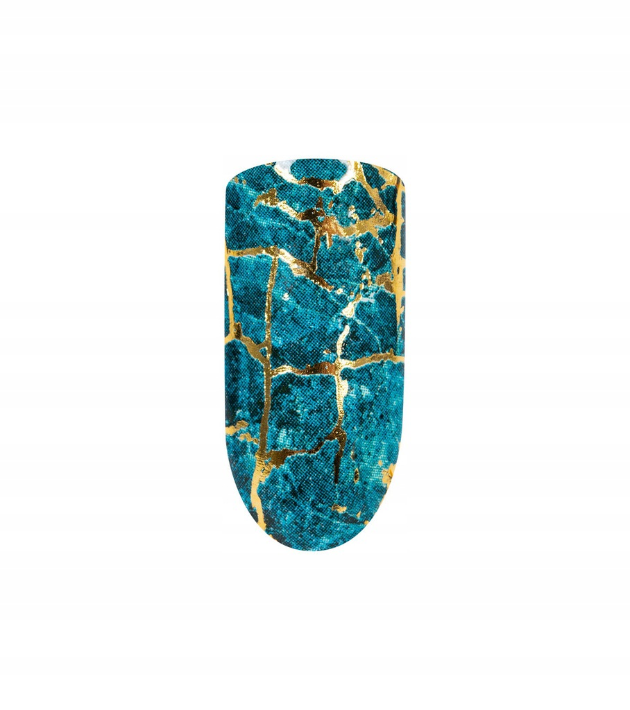 Peggy Sage Naklejki wodne - niebieski marmur