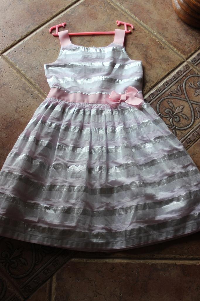 COOL CLUB sukieneczka roz. - 128 lat ŚLUB CHRZEST