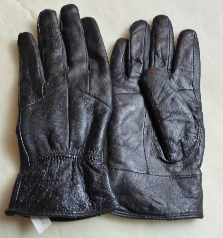 Skórzane rękawiczki rozmiar L