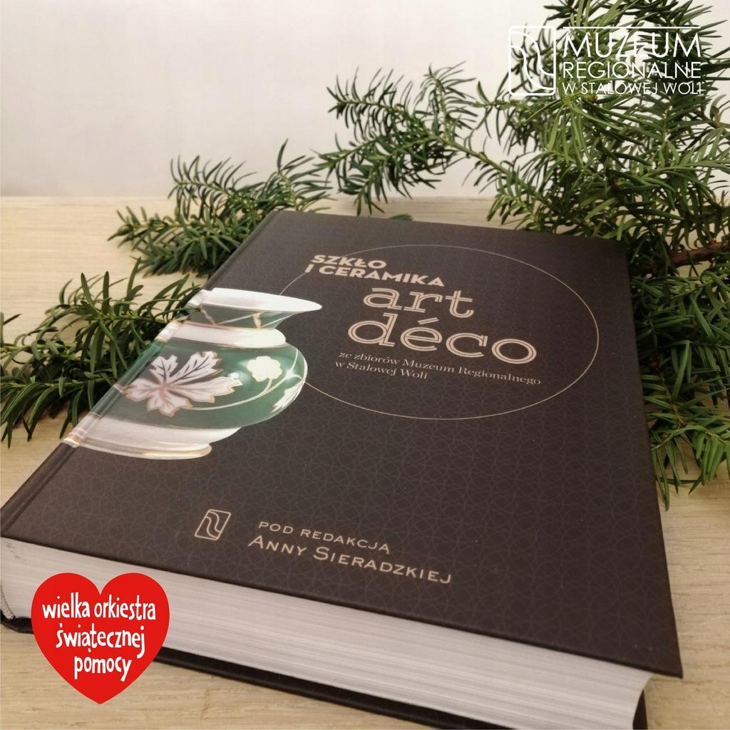 Książka Szkło i ceramika art deco +karnet