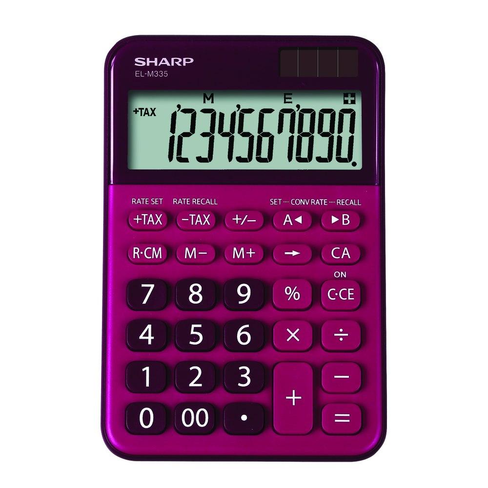 SHARP CALCULATOR DESKTOP ELM335BRD-815