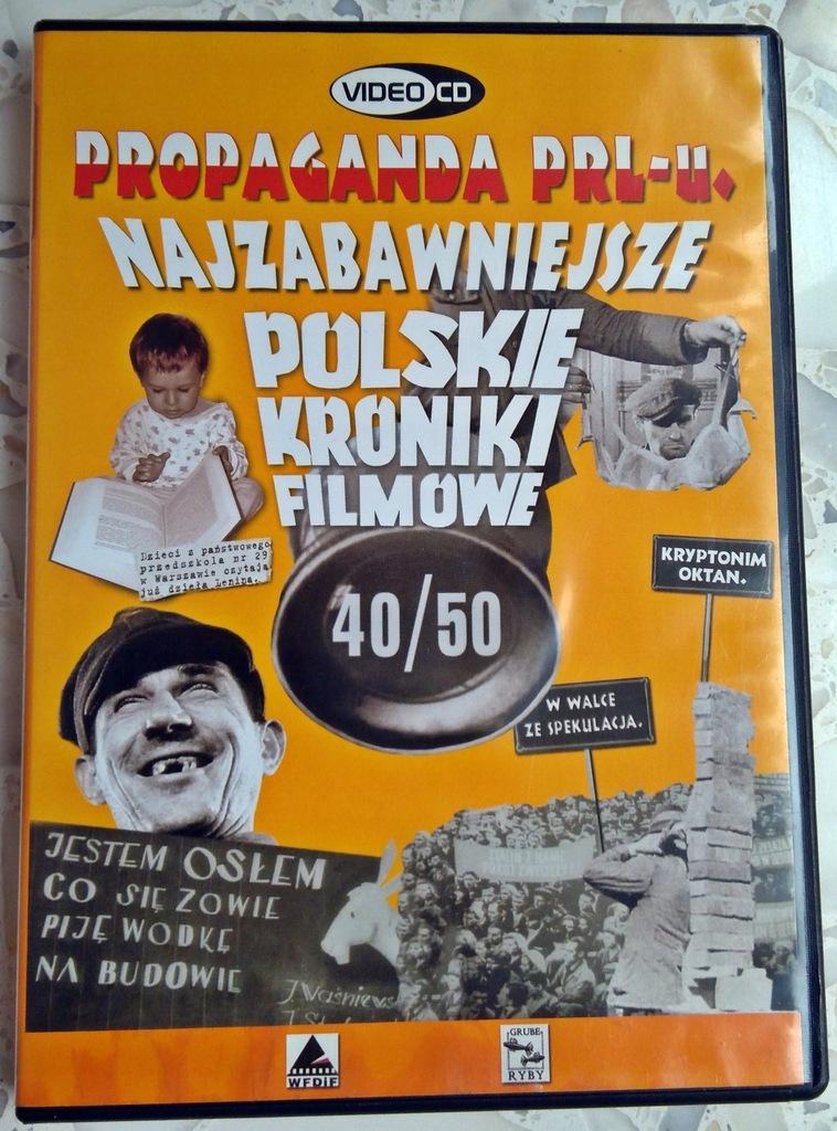 FILM VCD PROPAGANDA PRL-u KRONIKI lata 40/50