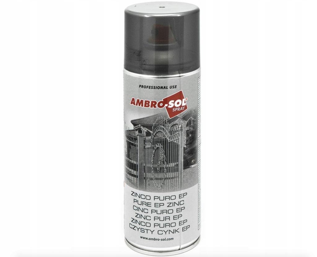 Cynk czysty EP preparat w sprayu AMBRO 400ml