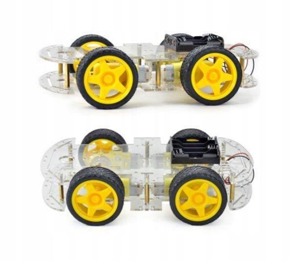 Platforma robota podwozie 4 silniki 4WD - ARDUINO