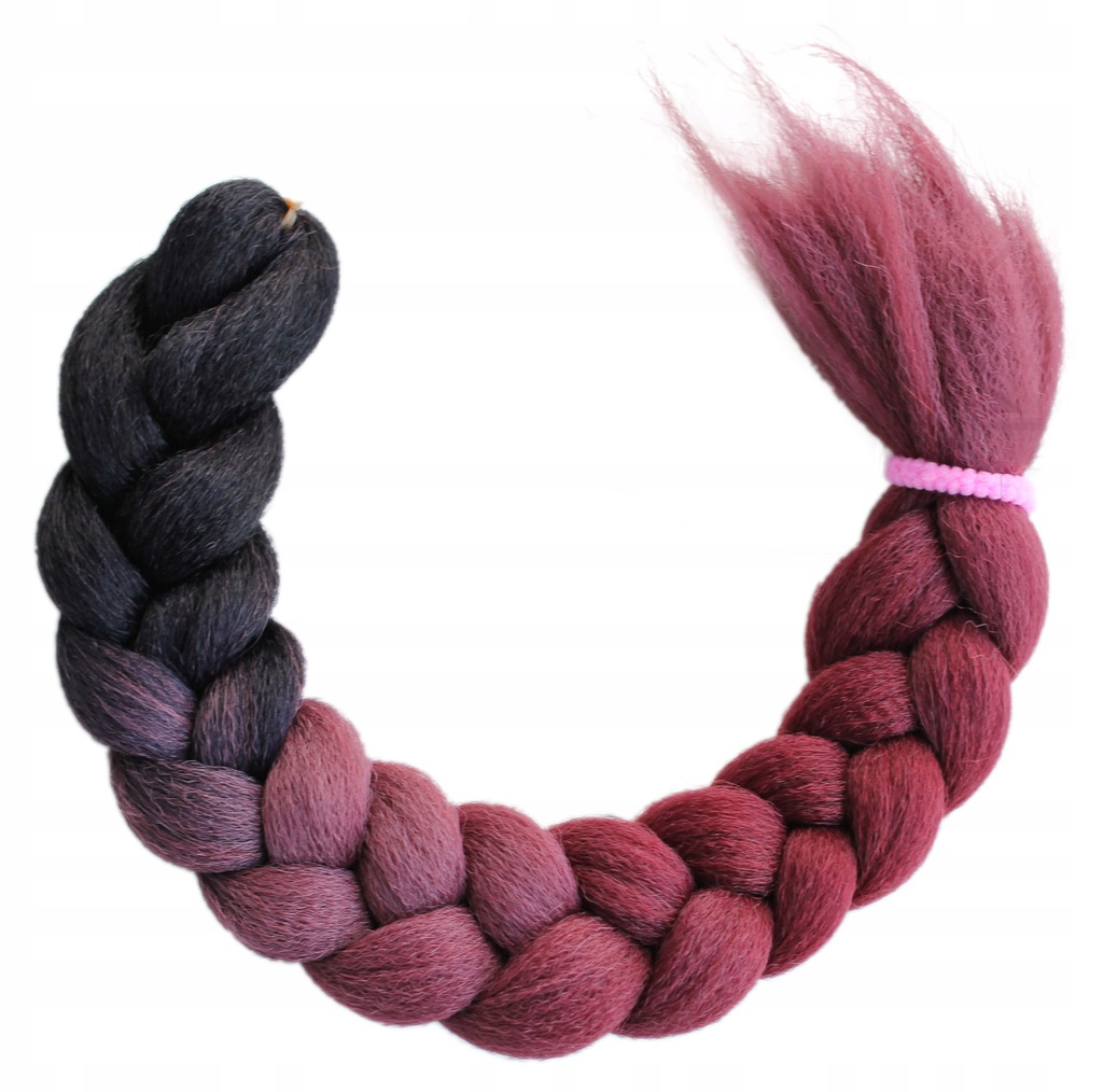 Włosy Syntetyczne na Warkoczyki Ombre
