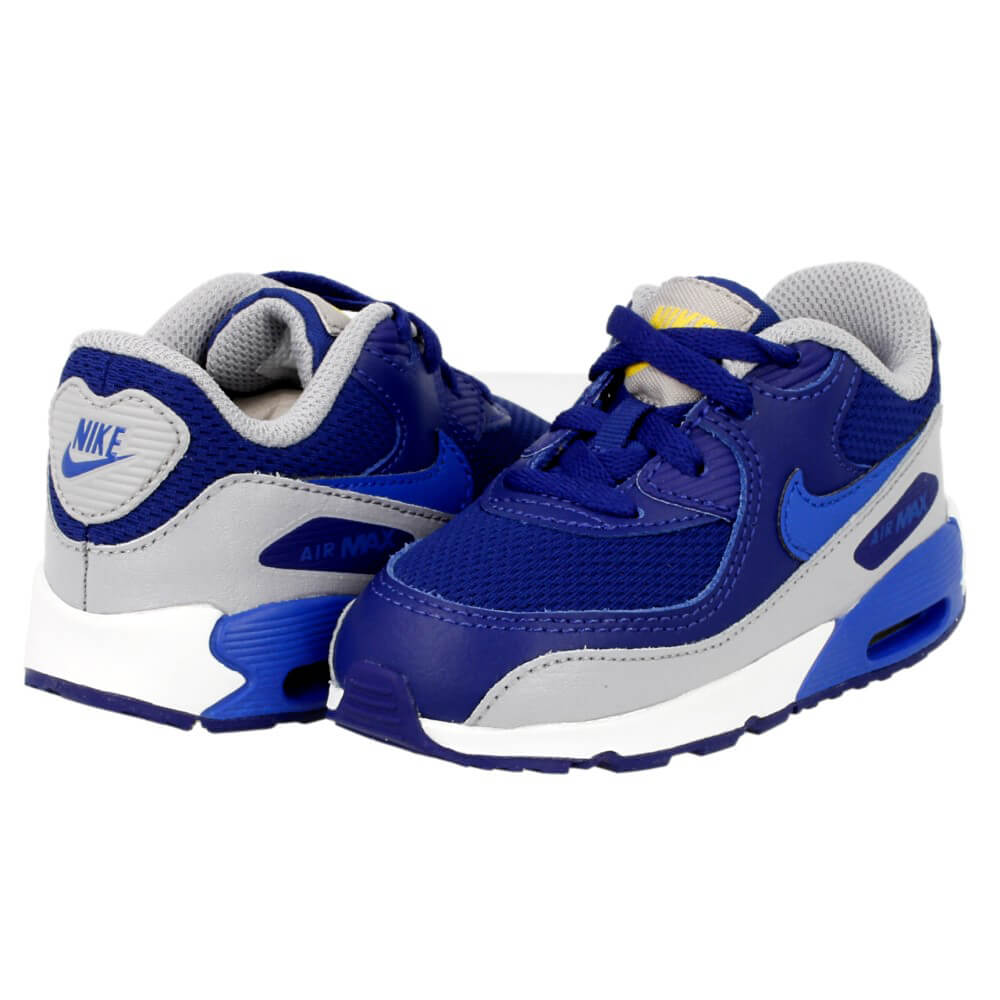 Dziecięce adidasy buty 21 NIKE AIR MAX 90 MESH granatowe