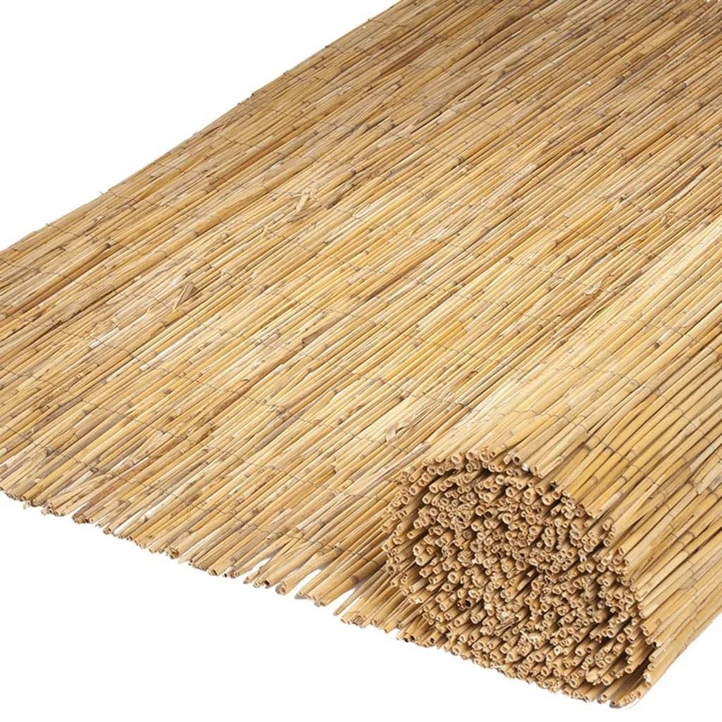 Maty ogrodzeniowe trzcina bambus 500x100cm VidaXL