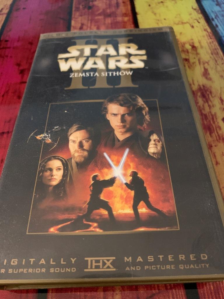 Gwiezdne Wojny Zemsta Sithow VHS