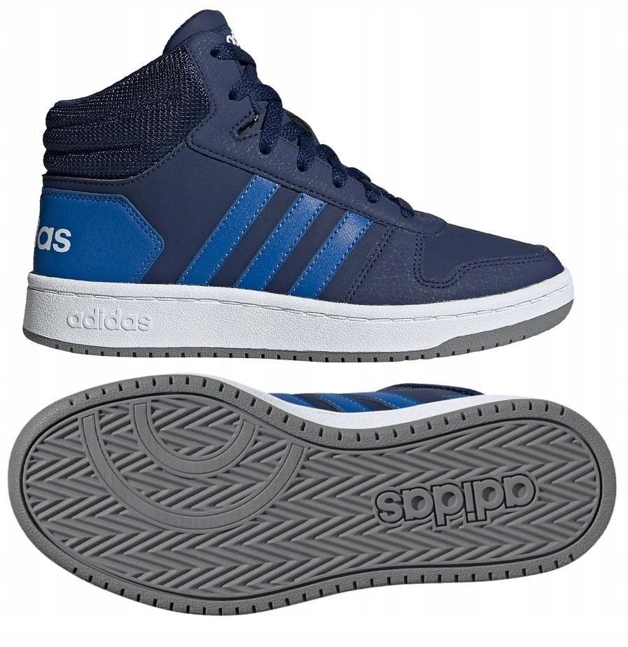 Buty zimowe Adidas Hoops Mid 2.0 K (EE6707)