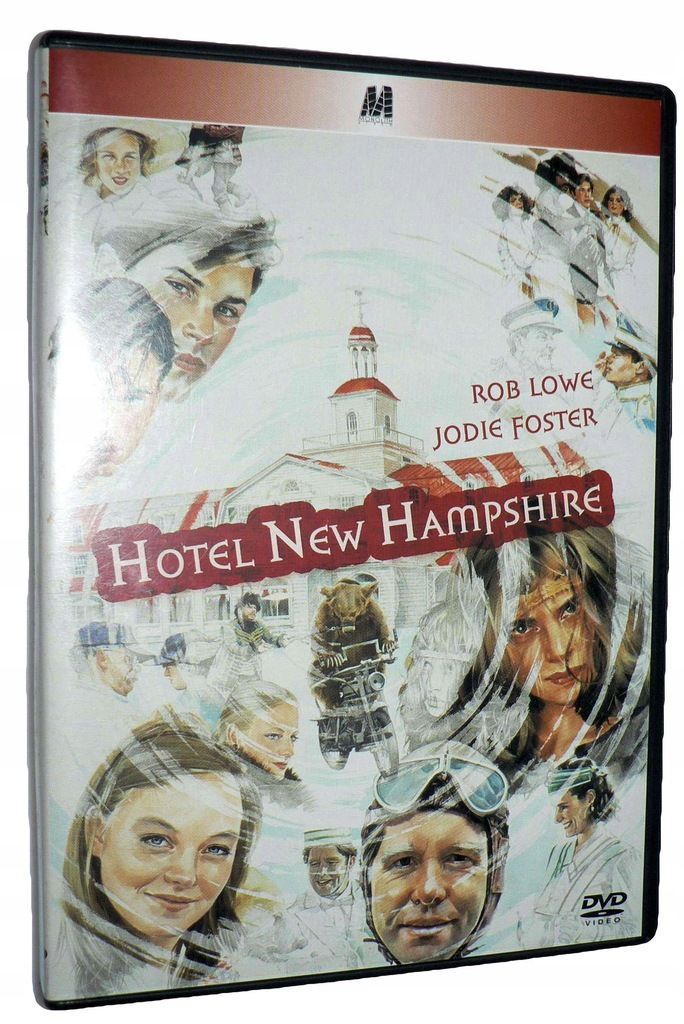 DVD - HOTEL NEW HAMPSHIRE (1984) - lektor Unikat
