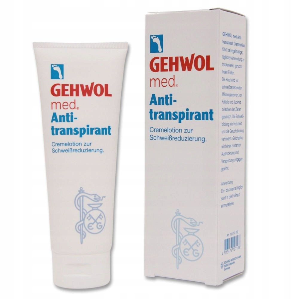 GEHWOL MED ANTYPERSPIRANT DO STÓP W KREMIE 125ml