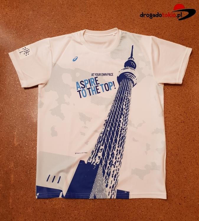 Koszulka ASICS Tokyo Marathon 2015 - unikat!
