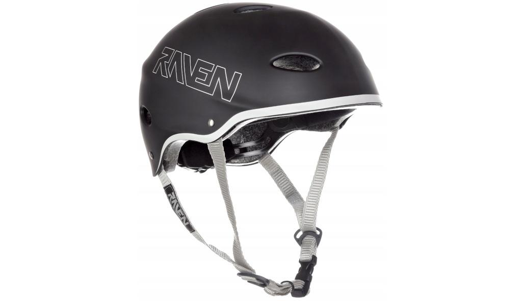 Kask Skateboardowy RAVEN F511 Black S (54-56cm)