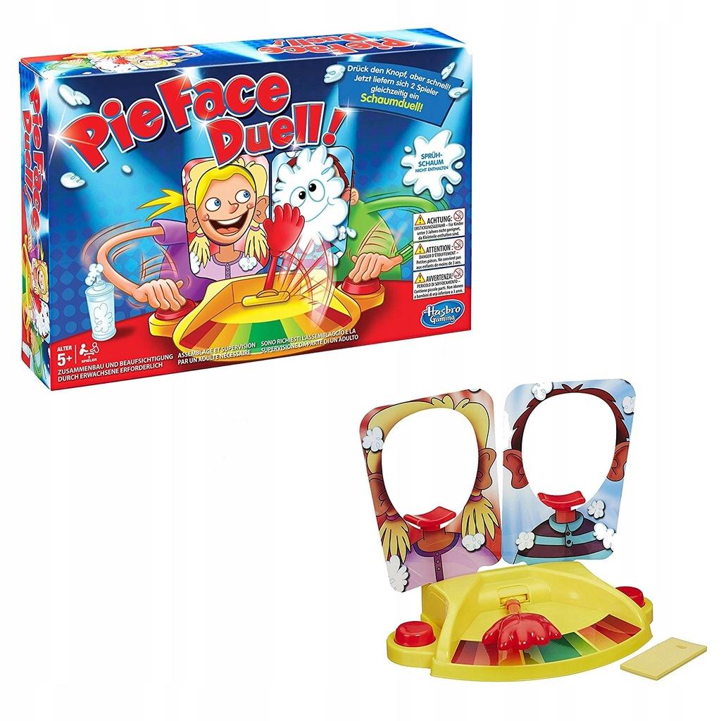 Hasbro Pie Face Duell Gra Towarzyska 7923569415 Oficjalne Archiwum Allegro
